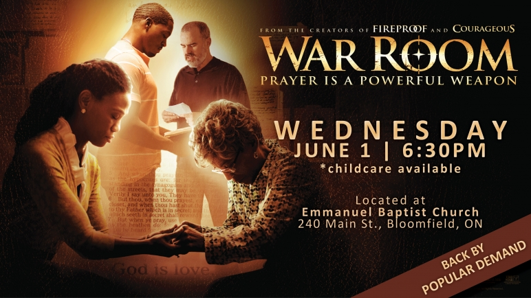 EBC Movie Night: War Room