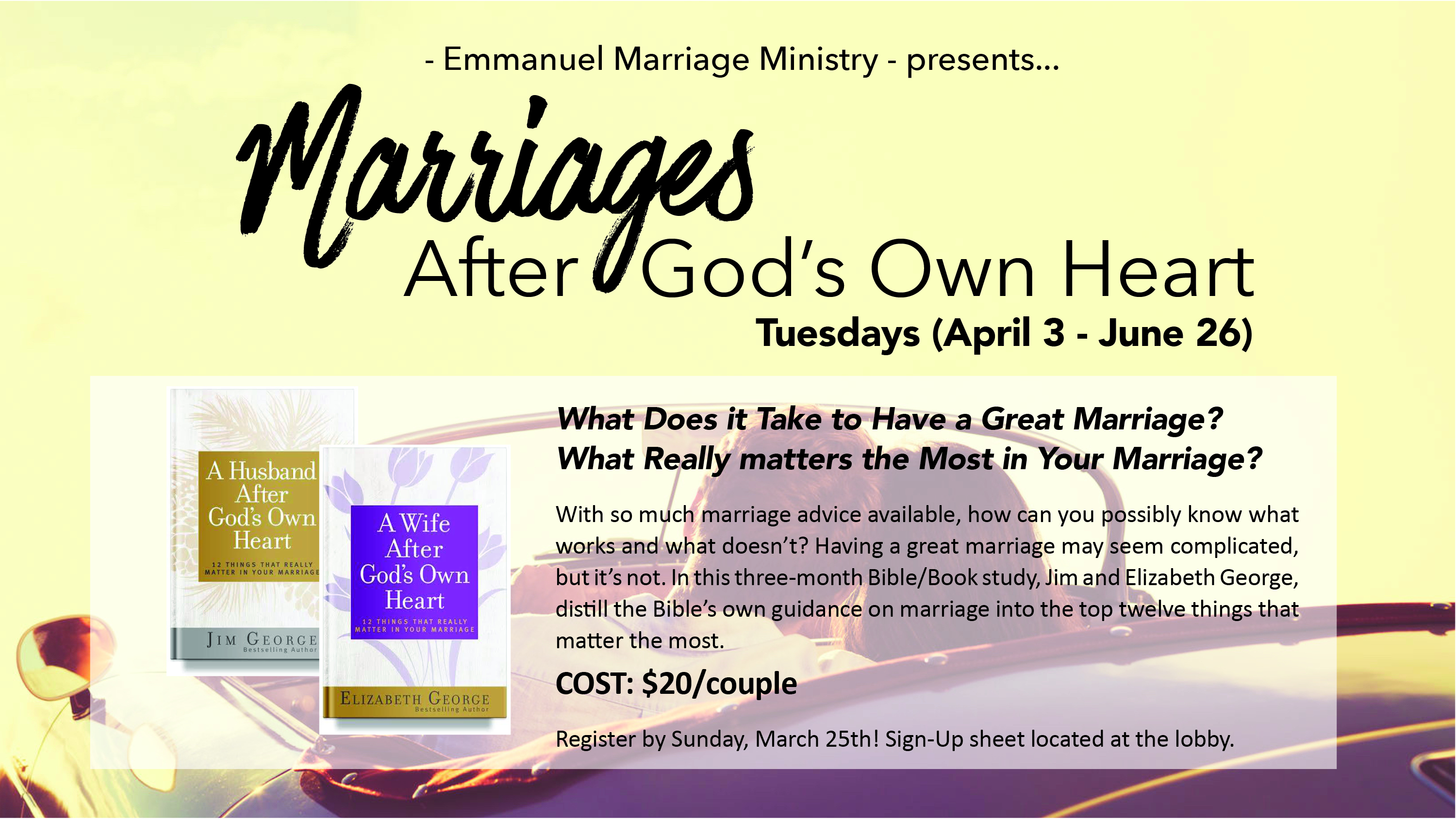 Marriages After God's Own Heart